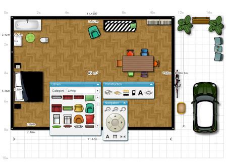 plantas de casas. Desenhe a planta da sua casa